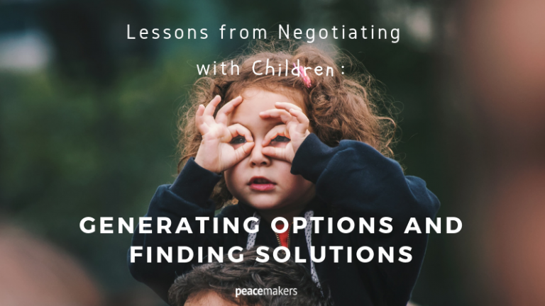 Lessons from Negotiating with Children_ Generating Options and Finding Solutions FB