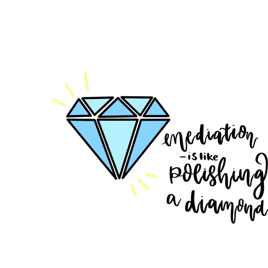 Mediation Metaphor 11: Polishing diamond
